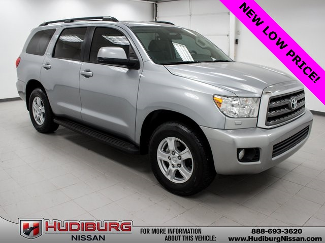 Pre Owned 2014 Toyota Sequoia Sr5 4d Sport Utility In