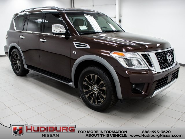 New 2017 Nissan Armada Platinum 4d Sport Utility In